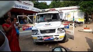Police accident Sakra police station Muzaffarpur (Bihar),India Dead 6 peoples.