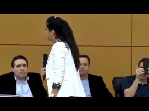 Missionária Camila Barros Testemunho sobre sua conversão ( Impactante )