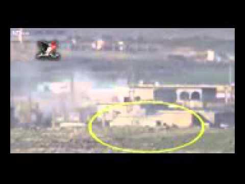 Советская ЗСУ 23 4 «Шилка» стреляет по боевикам в СИРИИ