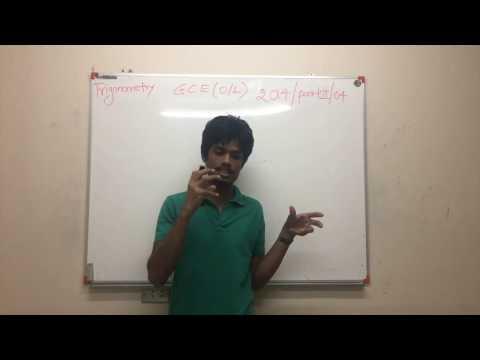 Sri Lankan GCE Ordinary Level 2014 Mathematics Trigonometry Exam Past Paper Explanation