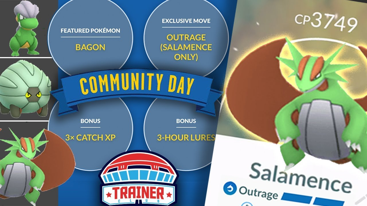 TOP 5 TIPS to MAXIMIZE SHINY BAGON COMMUNITY DAY + OUTRAGE SALAMENCE! |  POKEMON GO!
