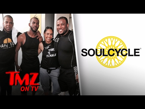 Jay Z and Chris Paul Enjoy a Lovely Bike Ride | TMZ TV