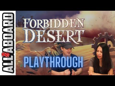 Forbidden Desert Board Game Full Playthrough 2 Player (Ep 15)