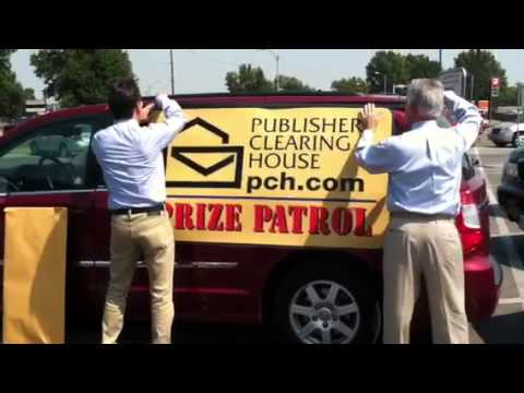 Watch as the Prize Patrol Puts the Sign on the Van! August 31st, 2011