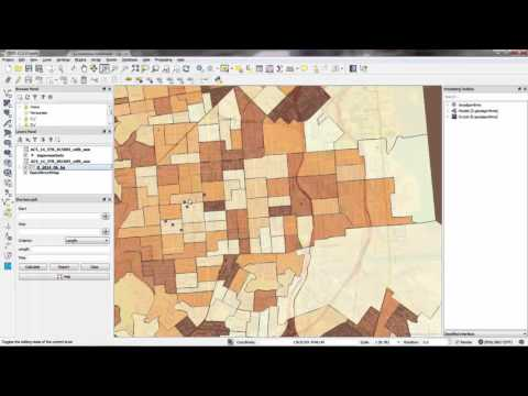 GIS Census Tutorial - 3. Making a Thematic Map of Population in QGIS
