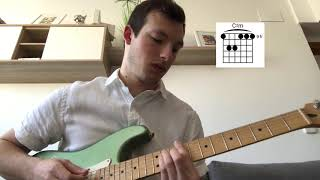Guitar Tutorial For Santa Monica by Aries