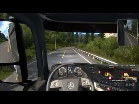 Euro Truck Simulator 2 - Scandinavia - Bergen to Stavanger Gameplay (PC HD) [1080p]
