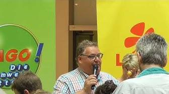 Bingo die Umweltlotterie Live in Hamburg im City Center Bergedorf am 29.7.2017