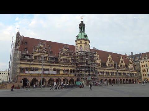 Лейпциг. Германия. Прогулка по городу