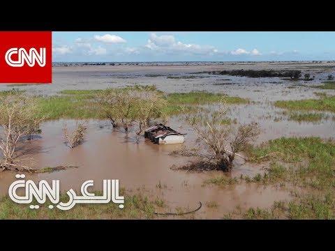 الدمار الذي خلفه إعصار إيداي في موزمبيق
