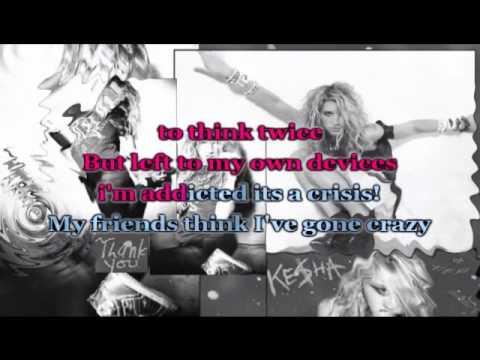 Kesha-Your Love is my Drug!(Karaoke/Instrumental)