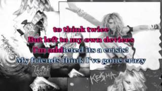 Kesha-Your Love is my Drug!(Karaoke/Instrumental)