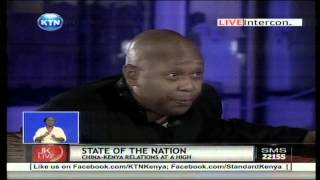 Tony Gachoka names poeple robbing Kenya on Jeff Koinange Live
