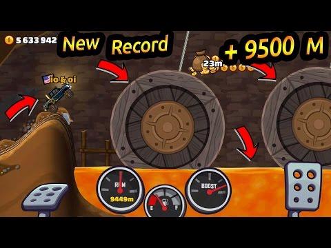 Hill Climb Racing 2 New Record In Mines +9500 Super Diesel