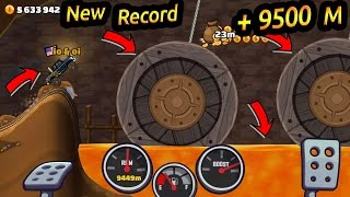 Hill Climb Racing 2 New Record In Mines +9500 Super Diesel