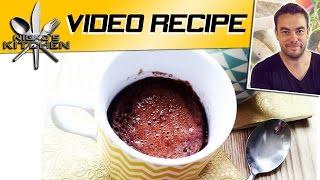 Chocolate Mug Cake (in 5 Minutes) - Video Recipe