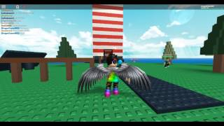 Roblox playing Natural Disaster Survival w/DragonTamer807