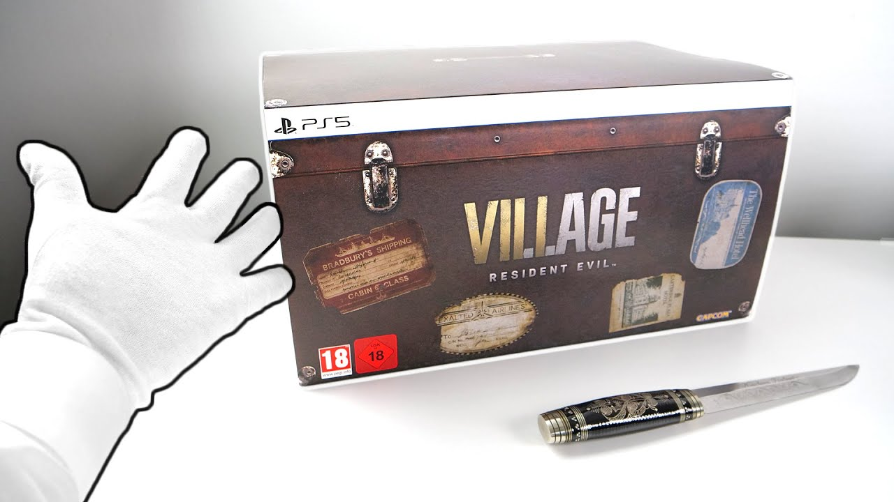 Resident Evil 8 Village Collector's Edition Unboxing [SOLD OUT!]