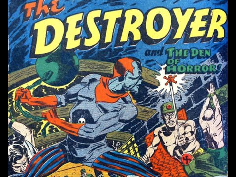 Image result for timely comics the destroyer