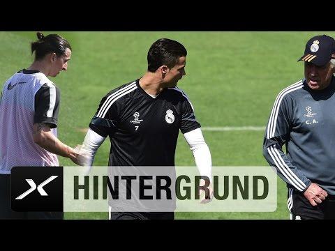 Cristiano Ronaldo und Co. Diese Weltstars trainierte Carlo Ancelotti | FC Bayern München