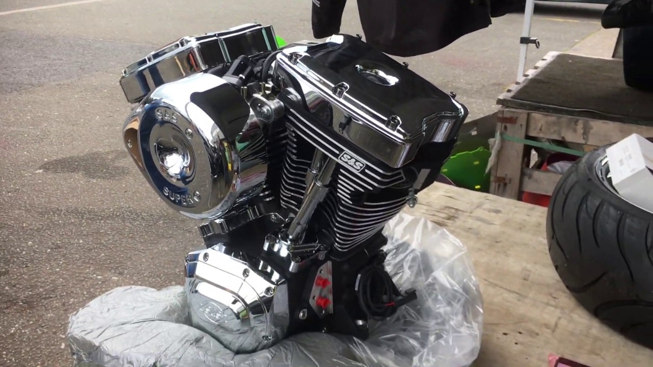 Bargain ECE Harley Davidson S&S engine T124 motor with Injectors ECU full  Kit TUV Custom Cruisers