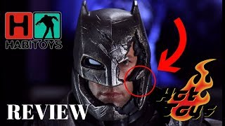 Hot Toys BATMAN Armored Battle Damaged! Review en Español! HABI TOYS