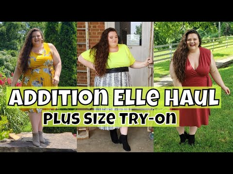 Addition Elle Haul - Plus Size Try-On. http://bit.ly/2Xc4EMY