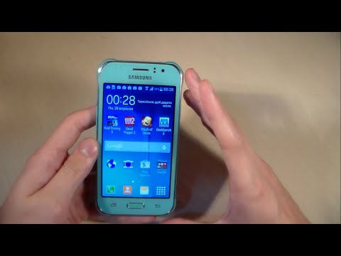 Обзор Samsung Galaxy J1 Ace J110H (распаковка, дизайн, производительность, камера)