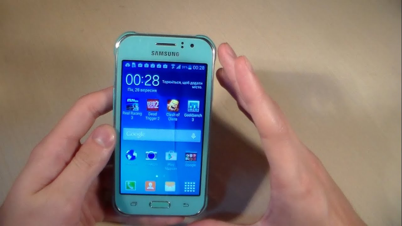 06cd8e61f9c53 Обзор Samsung Galaxy J1 Ace J110H (распаковка, дизайн, производительность,  камера)