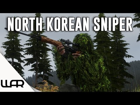 🌲 NORTH KOREAN SNIPER - ALTERNATE HISTORY - Second Korean War - Episode 6