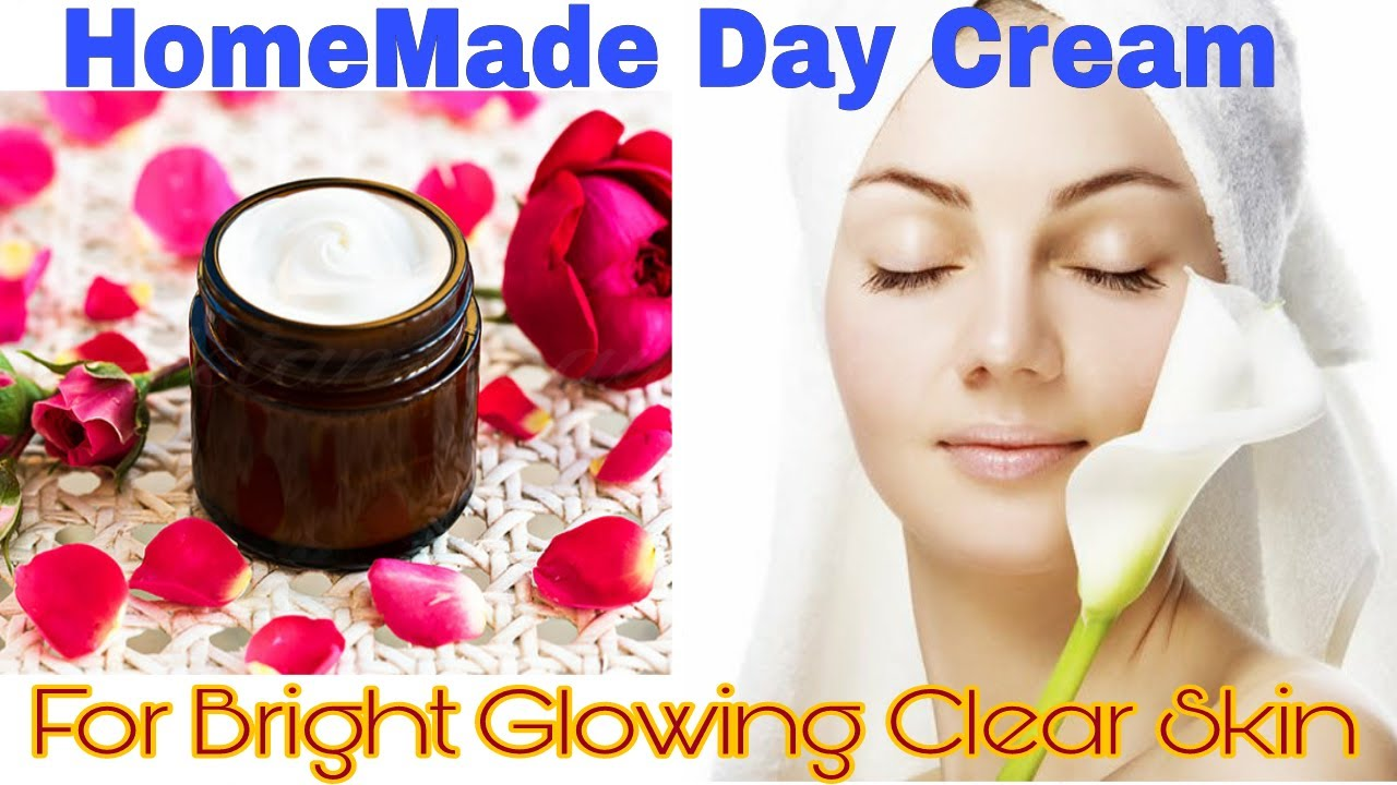 How To Make HomeMade Day Cream  Get Bright Clear Glowing Skin  Only 12  Ingredients  Must Watch