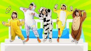 Five Little Babies Jumping on the Bed | CoComelon Nursery Rhymes & Kids Songs- 마슈토이 Mashu ToysReview