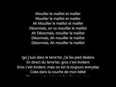 Naza - MMM (Mouiller le Maillot et Mailler) - Paroles