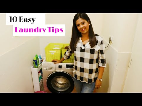 Laundry Routine:-10 Easy Laundry Tips