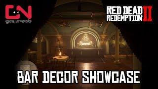 Bar Decor Showcase   Basic, Floral, Hunter & Refined Decor   Rdr2 Online Moonshiners