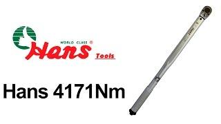 Hans 4171Nm DR 70 — динамометрический ключ — видео обзор 130.com.ua(Динамометрический ключ Hans 4171Nm DR 70 можно купить на 130.com.ua: ..., 2014-09-15T07:19:32.000Z)