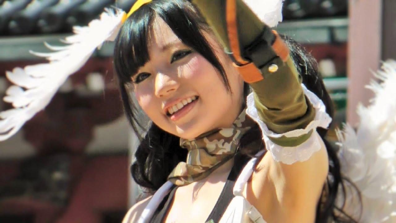 【露出狂女祭り】 浅草で恒例のサンバカーニバ …