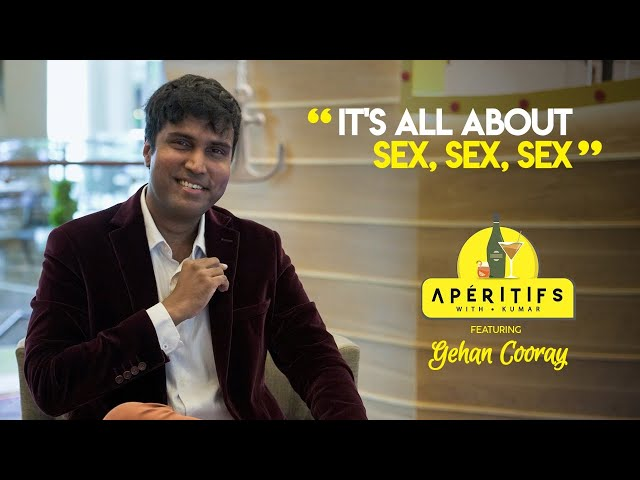 Gehan Cooray on Aperitifs with Kumar | Chat 1