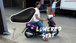 Genuine Buddy scooter seat replacement (torn seat?)