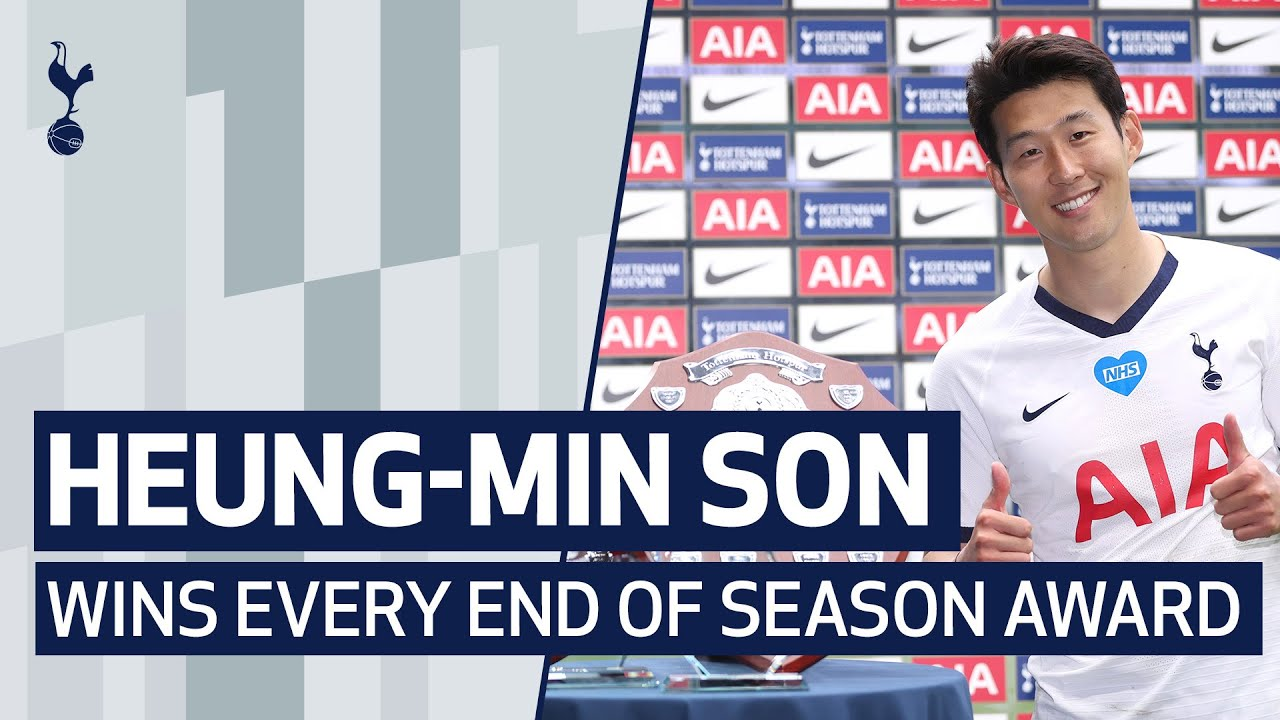 HEUNG-MIN SON WINS EVERY END OF SEASON AWARD!