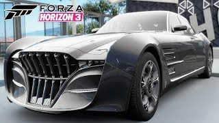 Carro Final Fantasy XV Quartz Regalia - Jogo Forza Horizon 3 Gameplay