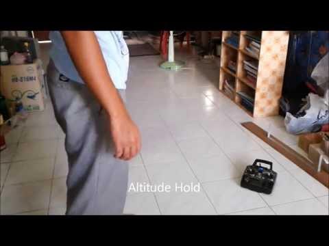 Tkquadrotor Testing Altitude Hold Pi State Feedback