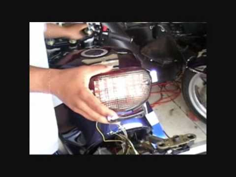 2003 GSX-R600 _ Integrated Turn Signals Install - YouTube on 2002 gsxr 750 tail light, 2002 gsxr 1000 tail light, 2004 gsxr 1000 tail light, 2002 sv650 tail light,