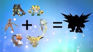 Pokemon Fusion Requests #135: Zygarde 100% + Meloetta + Deoxys + Zapdos + Regigigas.