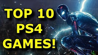 My TOP 10 Most Played Ps4 Games!