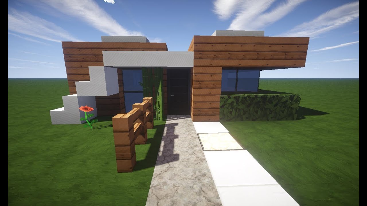 Minecraft Spielen Deutsch Minecraft Huser Bauen Youtube Bild - Minecraft haus mit garten bauen