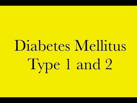 Pathology: Diabetes Mellitus type 1 and 2 + Ketoacidosis