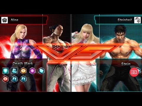 Tekken Card Tournament - Nina (Nin/Kaz) Vs Steinheil (Law/Lil)