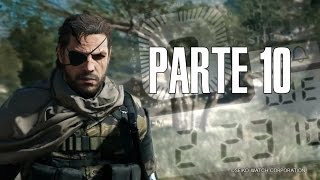 ¿ DÓNDE DUERMEN LAS ABEJAS ? | Metal Gear Solid 5 The Phantom Pain Gameplay Parte 10 En Español