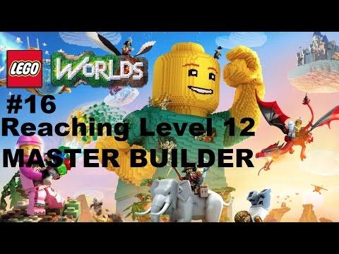 Lego Worlds: #16 Reaching Master Builder Level Ps4 Playthrough